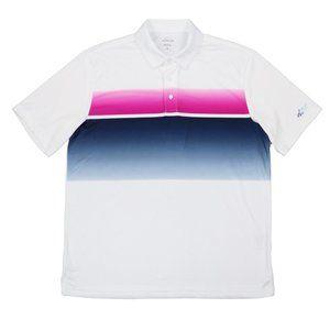 Greg Norman Attack Life Graphic Golf Polo Shirt